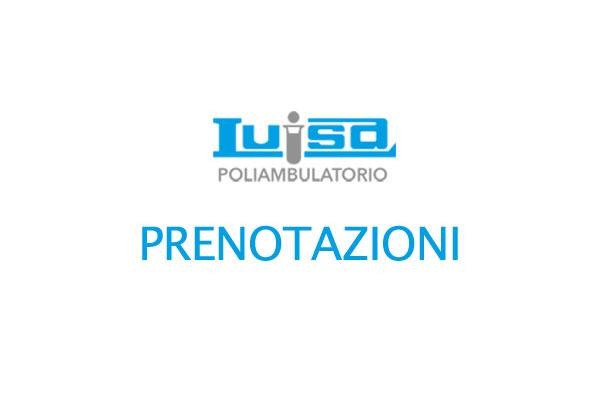 Prenotazioni Analisi Cliniche Luisa Roma