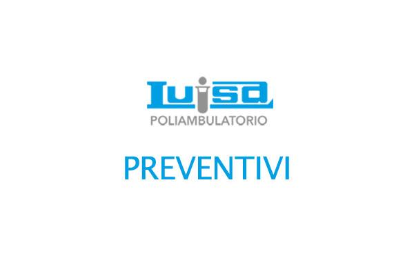 Preventivi Analisi Cliniche Luisa Roma