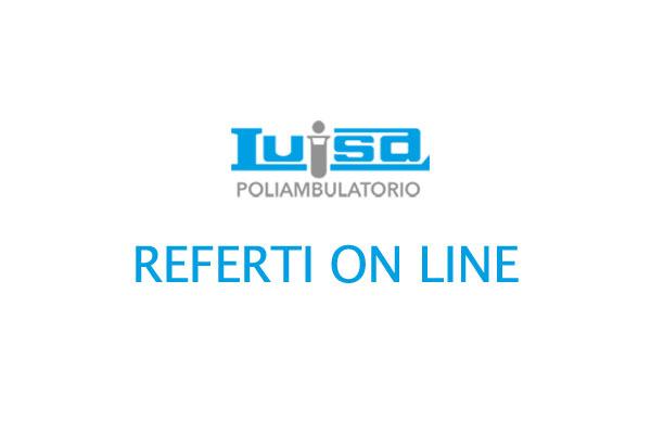 Referti online Analisi Cliniche Luisa